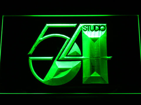 Studio 54 LED Neon Sign - Green - SafeSpecial