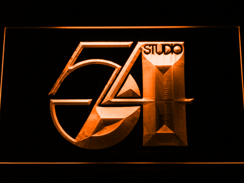Studio 54 LED Neon Sign - Orange - SafeSpecial
