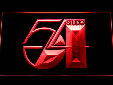 Studio 54 LED Neon Sign - Red - SafeSpecial