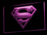 Superman LED Neon Sign - Purple - SafeSpecial