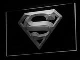 Superman LED Neon Sign - White - SafeSpecial