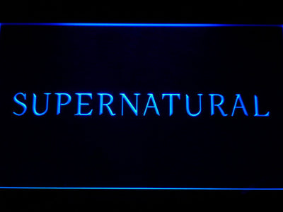 Supernatural LED Neon Sign - Blue - SafeSpecial
