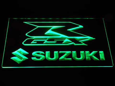 Suzuki GSX-R LED Neon Sign - Green - SafeSpecial