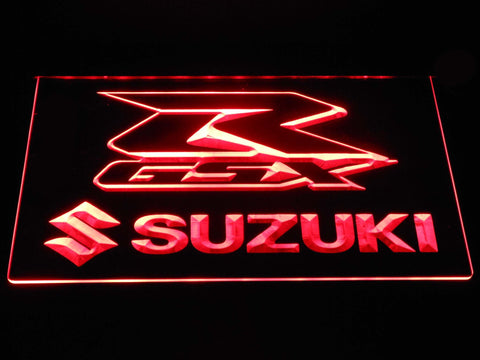 Suzuki GSX-R LED Neon Sign - Red - SafeSpecial