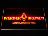 SV Werder Bremen LED Neon Sign - Orange - SafeSpecial