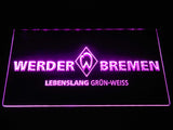 SV Werder Bremen LED Neon Sign - Purple - SafeSpecial