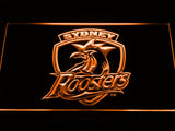 Sydney Roosters LED Neon Sign - Orange - SafeSpecial