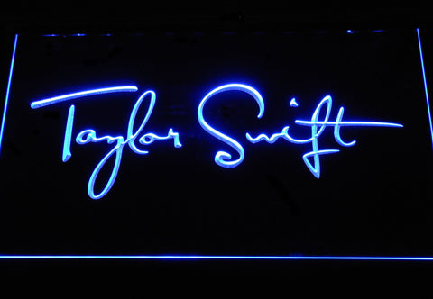 Taylor Swift LED Neon Sign - Blue - SafeSpecial