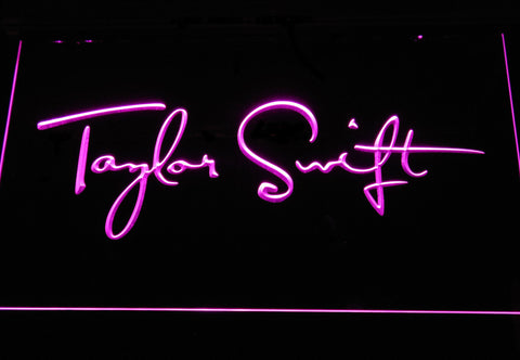 Taylor Swift LED Neon Sign - Purple - SafeSpecial
