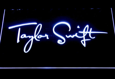 Taylor Swift LED Neon Sign - White - SafeSpecial