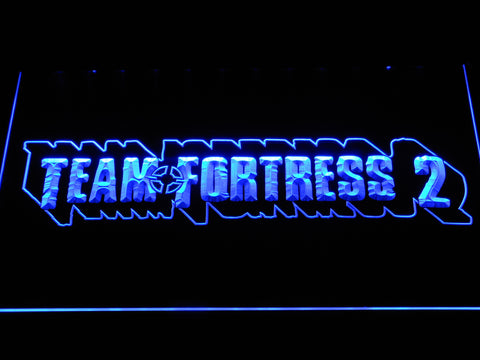 Team Fortress 2 LED Neon Sign - Blue - SafeSpecial