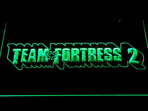 Team Fortress 2 LED Neon Sign - Green - SafeSpecial