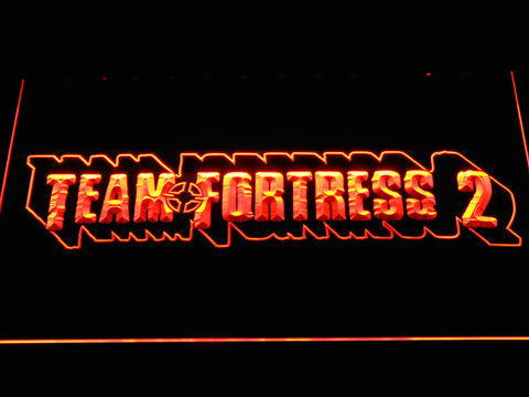 Team Fortress 2 LED Neon Sign - Orange - SafeSpecial