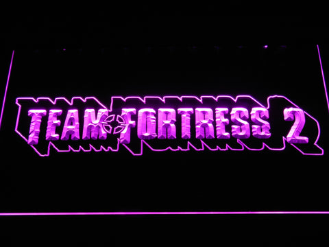 Team Fortress 2 LED Neon Sign - Purple - SafeSpecial
