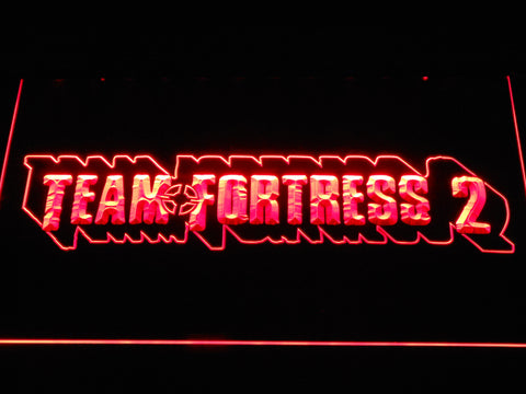 Team Fortress 2 LED Neon Sign - Red - SafeSpecial