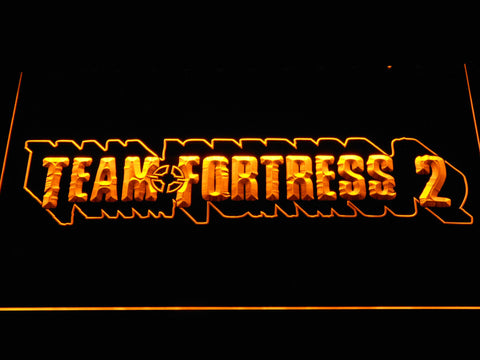 Team Fortress 2 LED Neon Sign - Yellow - SafeSpecial