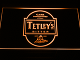 Tetley's Bitter LED Neon Sign - Orange - SafeSpecial