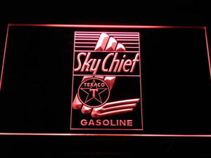 Texaco Sky Chief LED Neon Sign - Red - SafeSpecial