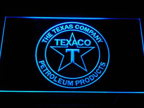 Texaco The Texas Company LED Neon Sign - Blue - SafeSpecial