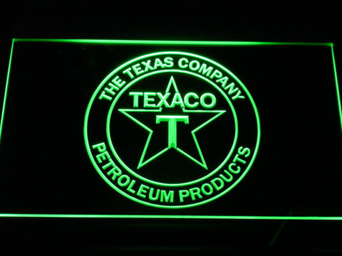 Texaco The Texas Company LED Neon Sign - Green - SafeSpecial