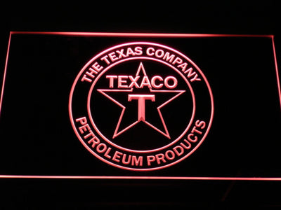 Texaco The Texas Company LED Neon Sign - Red - SafeSpecial
