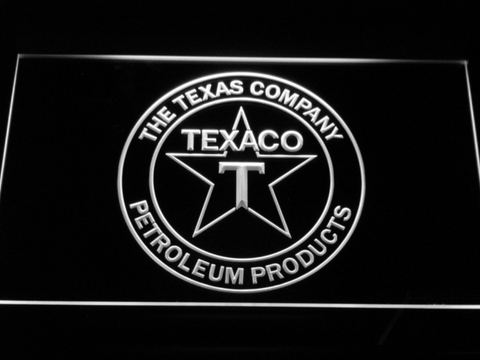 Texaco The Texas Company LED Neon Sign - White - SafeSpecial
