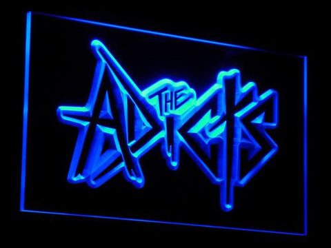 The Adicts LED Neon Sign - Blue - SafeSpecial