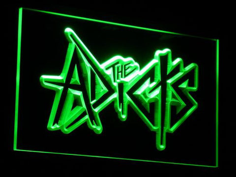 The Adicts LED Neon Sign - Green - SafeSpecial