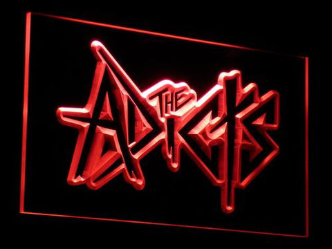 The Adicts LED Neon Sign - Red - SafeSpecial