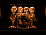 The Beatles Drum LED Neon Sign - Orange - SafeSpecial