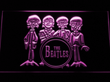 The Beatles Drum LED Neon Sign - Purple - SafeSpecial
