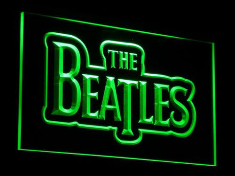 The Beatles LED Neon Sign - Green - SafeSpecial