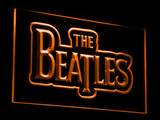 The Beatles LED Neon Sign - Orange - SafeSpecial