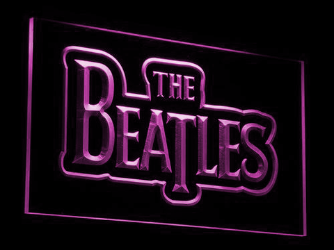 The Beatles LED Neon Sign - Purple - SafeSpecial