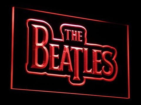 The Beatles LED Neon Sign - Red - SafeSpecial