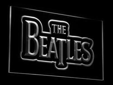 The Beatles LED Neon Sign - White - SafeSpecial