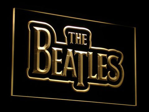 The Beatles LED Neon Sign - Yellow - SafeSpecial