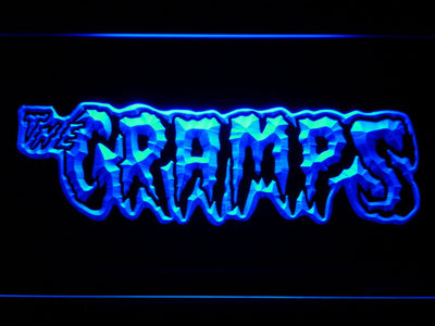 The Cramps LED Neon Sign - Blue - SafeSpecial