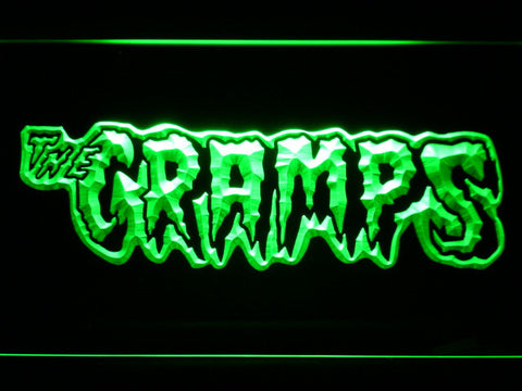 The Cramps LED Neon Sign - Green - SafeSpecial