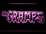 The Cramps LED Neon Sign - Purple - SafeSpecial