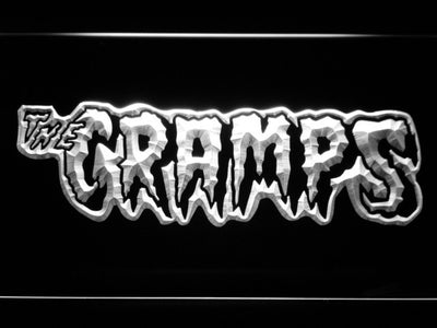 The Cramps LED Neon Sign - White - SafeSpecial