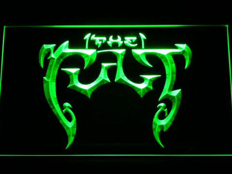 The Cult LED Neon Sign - Green - SafeSpecial