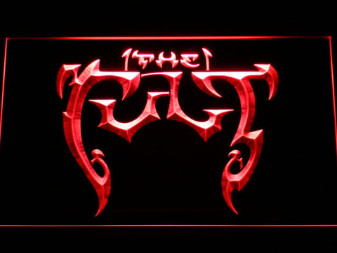 The Cult LED Neon Sign - Red - SafeSpecial