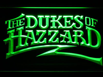The Dukes Of Hazzard LED Neon Sign - Green - SafeSpecial