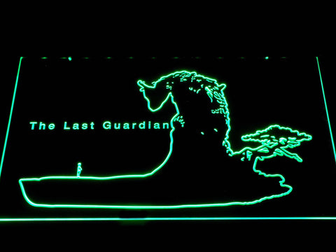 Image of The Last Guardian LED Neon Sign - Green - SafeSpecial