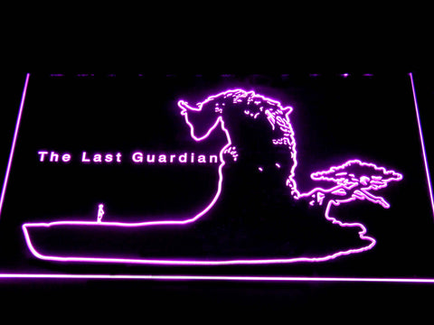 Image of The Last Guardian LED Neon Sign - Purple - SafeSpecial
