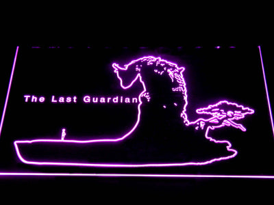 The Last Guardian LED Neon Sign - Purple - SafeSpecial