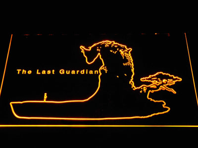 The Last Guardian LED Neon Sign - Yellow - SafeSpecial