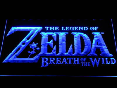 The Legend of Zelda Breath of the Wild LED Neon Sign - Blue - SafeSpecial