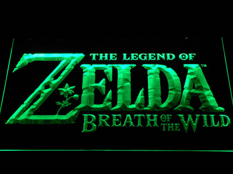 Image of The Legend of Zelda Breath of the Wild LED Neon Sign - Green - SafeSpecial